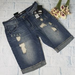 586d5243b7 Men's XRay Jeans Distressed Shorts